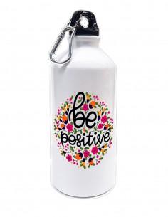 Botella de agua metálica...