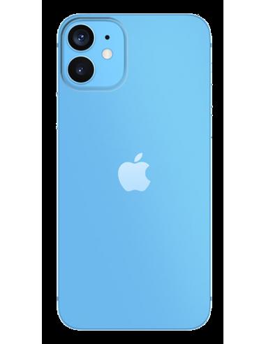 Funda personalizada para iPhone 12 mini de silicona o gel transparente