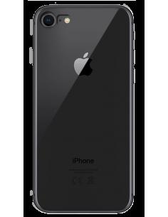 Funda personalizada para iPhone 8 de silicona o gel transparente