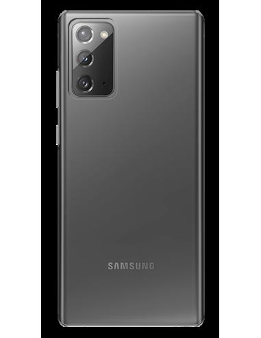 Funda personalizada para Samsung Galaxy Note 20 de silicona transparente