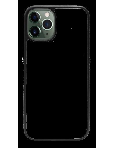 Funda personalizada para iPhone 12 Pro Max de TPU o goma de borde negro