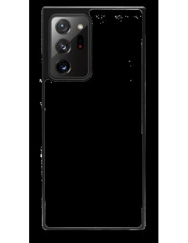 Funda personalizada para Samsung Galaxy Note 20 Ultra de goma negra TPU flexible