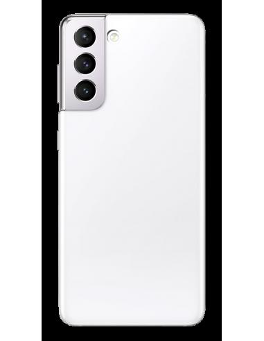 Funda personalizada para Samsung Galaxy S21 de silicona transparente