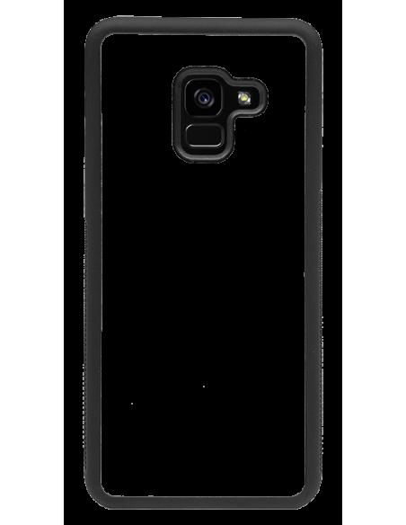 Funda personalizada para Samsung Galaxy A5 (2018) de TPU borde negro flexible