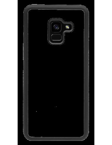 Funda personalizada para Samsung Galaxy A8 (2018) de TPU borde negro flexible