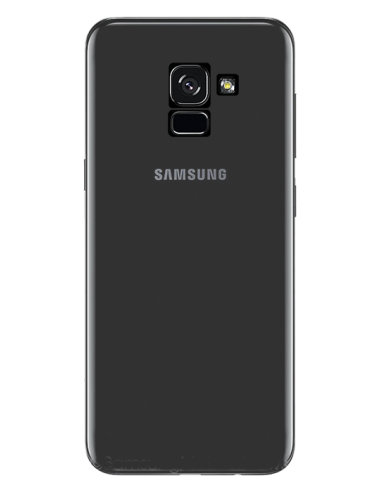 Funda personalizada para Samsung Galaxy A5 2018 de silicona transparente