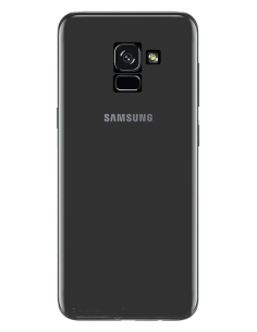 Funda personalizada para Samsung Galaxy A8 2018 de silicona transparente