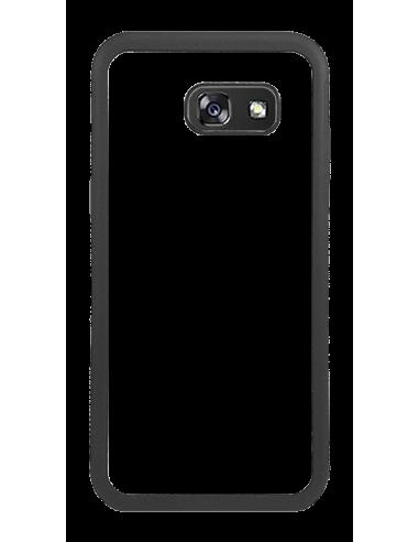 Funda personalizada para Samsung Galaxy A5 (2017) de TPU borde negro flexible