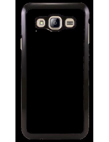 Funda personalizada para Samsung Galaxy J3 (2016) de TPU borde negro flexible