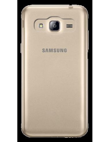 Funda personalizada para Samsung Galaxy J3 2016 de silicona transparente