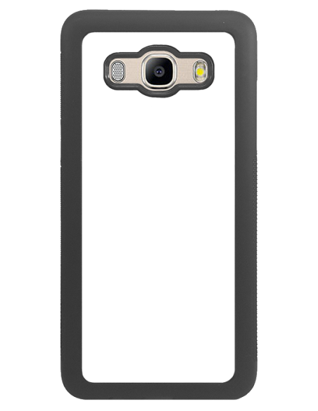 Funda personalizada para Samsung Galaxy J5 (2016) de TPU borde negro flexible