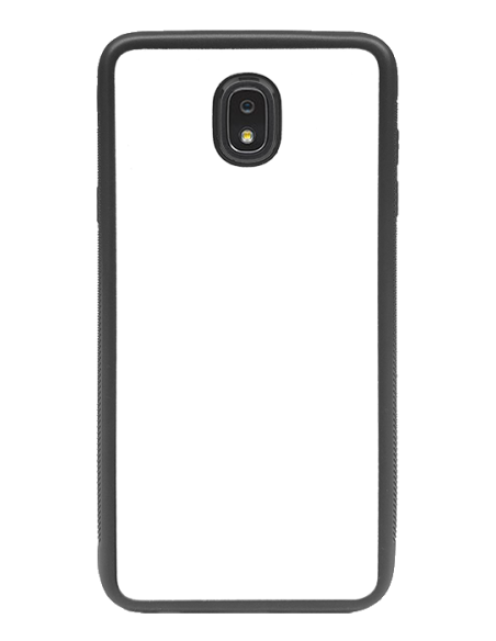 Funda personalizada para Samsung Galaxy J7 (2018) de goma negra flexible TPU
