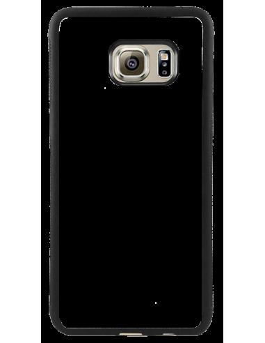 Funda personalizada para Samsung Galaxy S6 de goma flexible TPU borde negro
