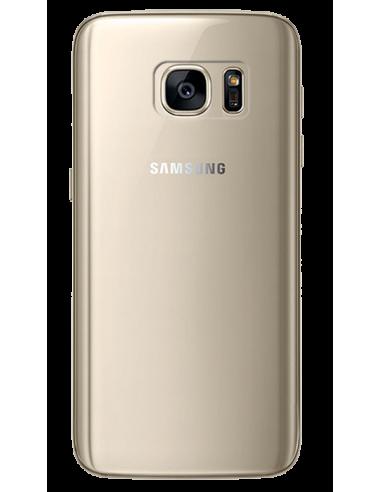 Funda personalizada para Samsung Galaxy S7 de silicona transparente