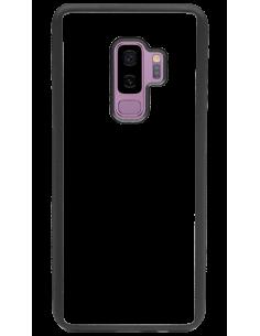 Funda personalizada para Samsung Galaxy S9 Plus de borde negro de TPU