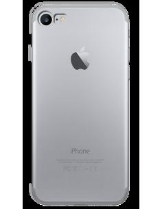 Funda personalizada para iPhone 7 de silicona o gel transparente