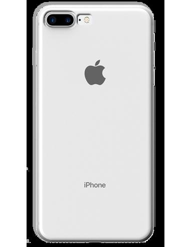 Funda personalizada para iPhone 8 Plus de silicona transparente