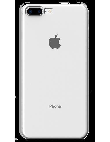 Funda personalizada para iPhone 7 Plus de silicona transparente