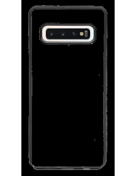 Funda personalizada para Samsung Galaxy S10 Plus de borde negro de TPU