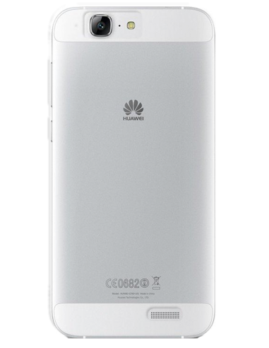 Funda personalizada para Huawei Ascend G7 de silicona transparente flexible