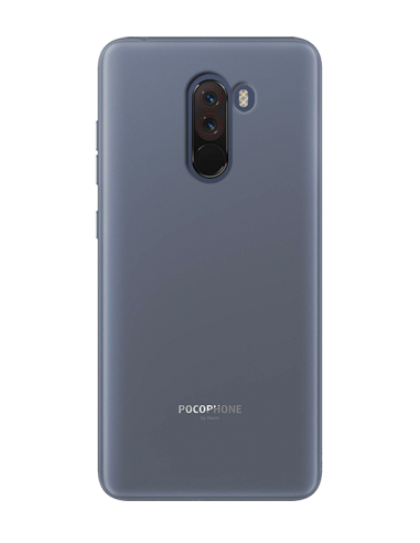 Funda personalizada para Xiaomi Pocophone F1 de silicona transparente flexible