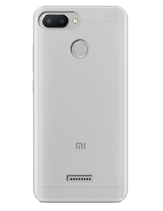 Funda personalizada para Xiaomi Redmi 6A de silicona transparente flexible