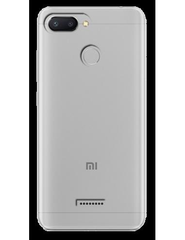 Funda personalizada para Xiaomi Redmi 6 de silicona transparente flexible