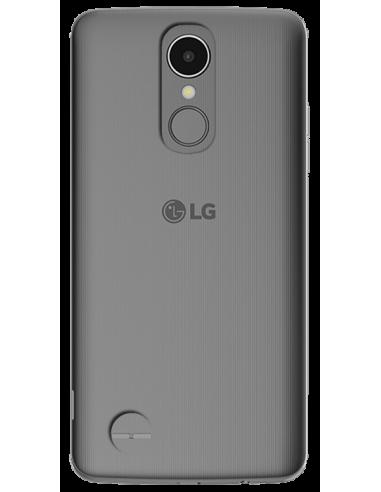 Funda personalizada para LG K8 2017 de silicona transparente flexible carcasa de móvil
