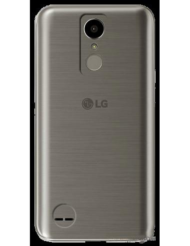 Funda personalizada para LG K10 2017 de silicona transparente flexible carcasa de móvil