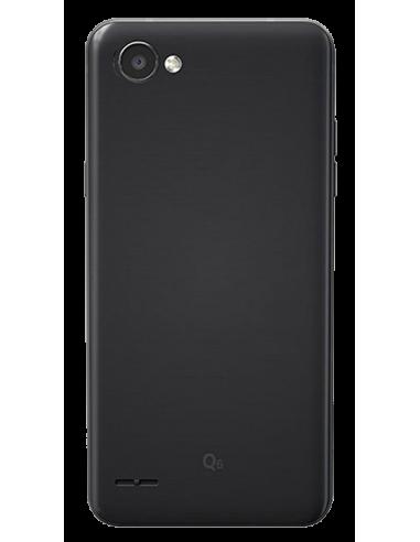 Funda personalizada para LG Q6 de silicona transparente flexible carcasa de móvil