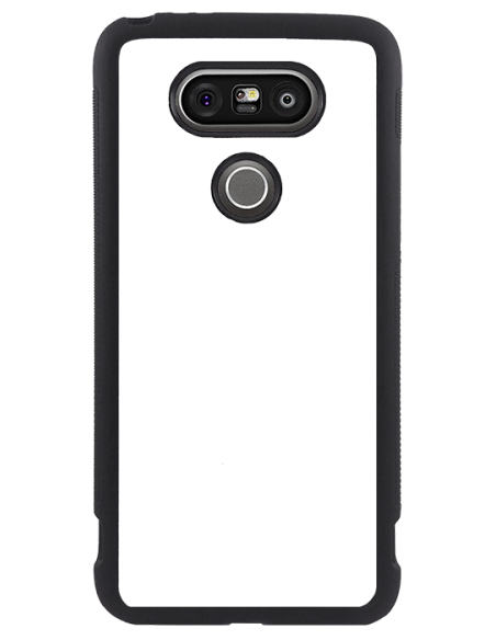 Funda personalizada para LG G5 de TPU en borde negro flexible