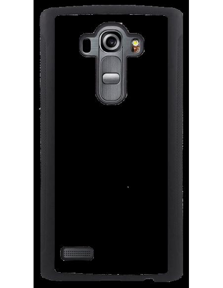 Funda personalizada para LG G4 de TPU en borde negro flexible