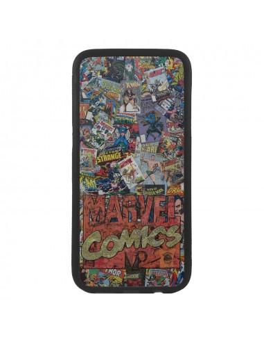 Funda de móvil collage comics Marvel retro de superheroes retro Case Cover