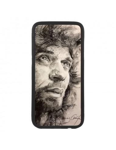 Funda carcasa de móvil con pintura de Camarón artista flamenco universal