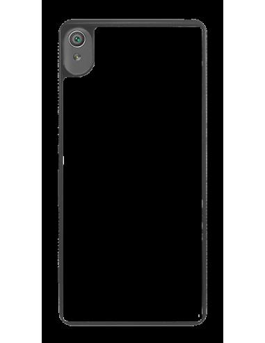 Funda personalizada para Sony Xperia XA de TPU en borde negro flexible