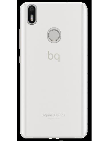 Funda personalizada para bq Aquiaris X Pro de silicona transparente