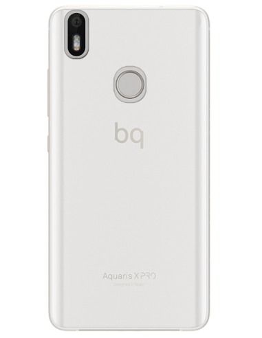copy of Funda personalizada para bq Aquiaris X Pro de silicona transparente