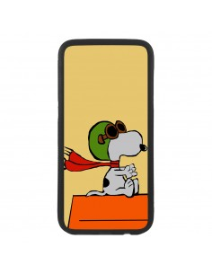 Funda de móvil comic Snoopy...