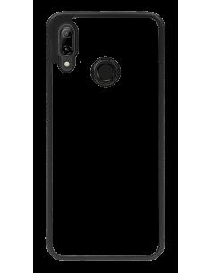 Funda personalizada para Huawei P Smart 2019 de borde negro de TPU
