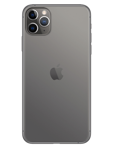 Funda personalizada para iPhone 11 Pro Max de silicona o gel transparente