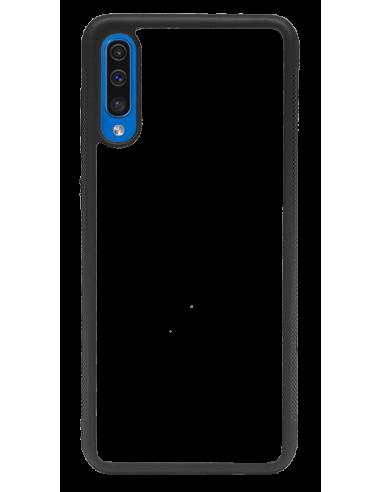 Funda personalizada para Samsung Galaxy A50 de borde goma flexible