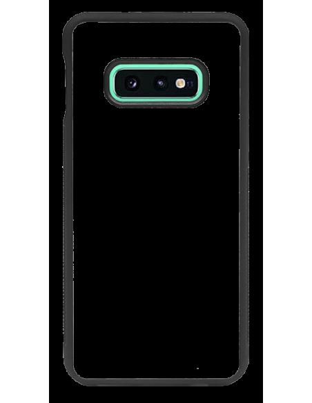 Funda personalizada para Samsung Galaxy S10e de borde negro de TPU
