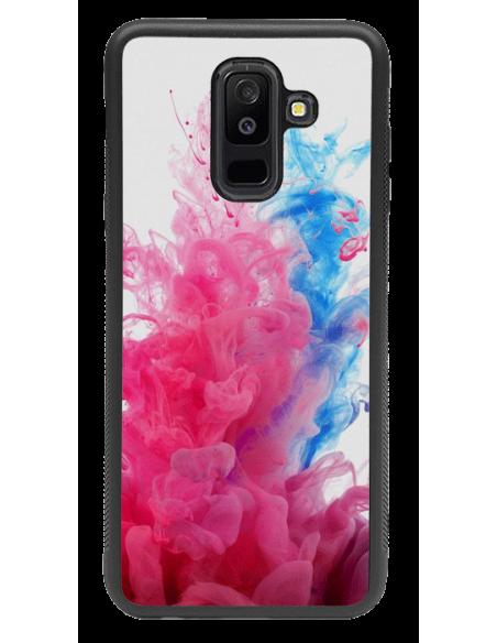 Funda personalizada para Samsung Galaxy A6 Plus (2018) de TPU borde negro flexible