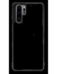 Funda personalizada para Huawei P30 Pro de borde negro de TPU