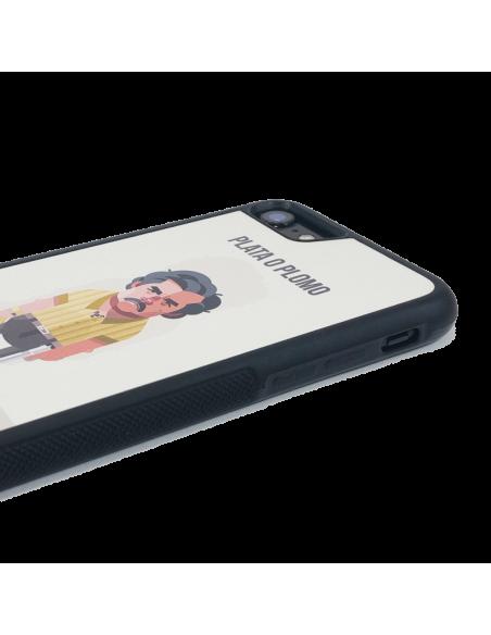 Funda personalizada para Huawei P10 Lite de borde negro de TPU