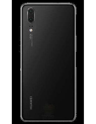 Funda personalizada para Huawei P20 de silicona transparente