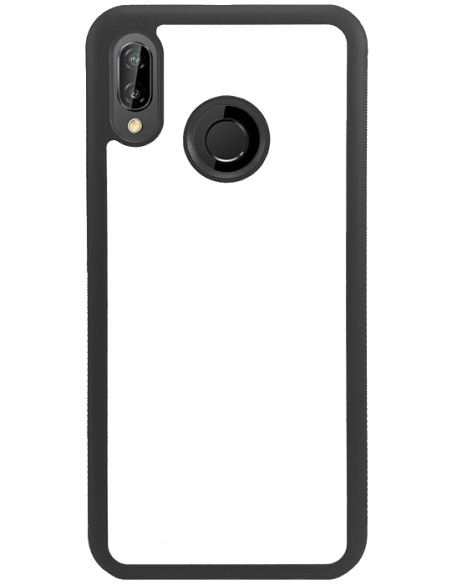 Funda personalizada para Huawei P20 Lite de borde negro de TPU