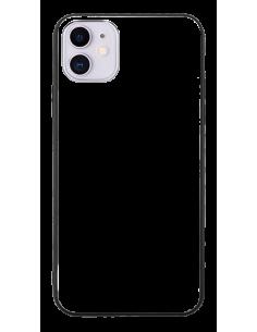 Funda personalizada para iPhone 11 de TPU o goma y cristal efecto espejo