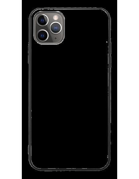 Funda personalizada para iPhone 11 Pro de TPU o goma y cristal efecto espejo