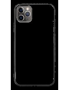 Funda personalizada para iPhone 11 Pro Max de TPU o goma y cristal efecto espejo